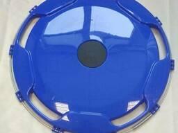 Колпак на диск колеса R-22,5 задний пластиковый цвет синий на Грузовые АВТО