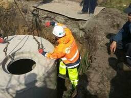 Комплекс работ по монтажу систем наружной канализации