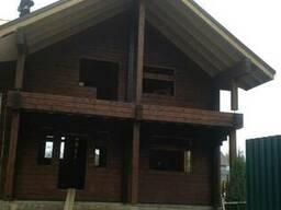 Комплект дома из профилированного бруса цельного