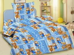 Комплект постельного белья детский из бязи
