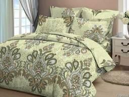 Комплект постельного белья евро-размер из бязи