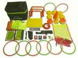 Комплект тренировочного спортинвентаря LX806 в сумке - фото 1