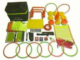 Комплект тренировочного спортинвентаря LX806 в сумке