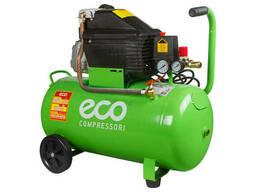 Компрессор ECO AE-501-1 (260 л/мин, 8 атм, коаксиальный, масляный, ресив. 50 л, 220 В. ..