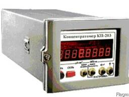 Концентратомер кондуктометрический КП-203