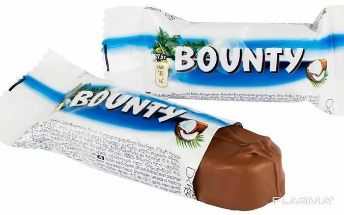 Конфеты баунти минис весовые