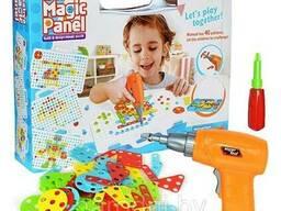 Конструктор-мозаика с шуроповертом Creative Mosaic 4в1 151 деталь