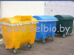 Контейнер для сбора ТБО на 1100 литров