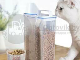 Контейнер пищевой для сыпучих продуктов Zuhause с крышкой и воронкой, 2000 гр.