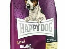 Корм Happy Dog Mini Irland - для чувствительных собак мелких пород с лососем и кроликом