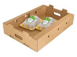 Короб , лоток для мясо птицы , мясных полуфабрикатов, колбасой продукцыи
