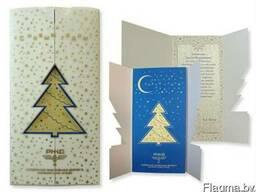 Корпоративные открытки, печать открыток