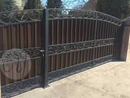 Кованые ворота, навесы