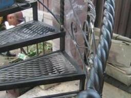 Ковка металла. Ворота. Заборы. Навесы. Беседки. Лестницы. - фото 2