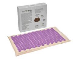 Коврик акупунктурный «Нирвана» с наполнителем из кокосового волокна, фиолетовый