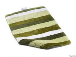 """Коврик для ванной текстильный зеленый """"Carl"""" 60*90 см"""