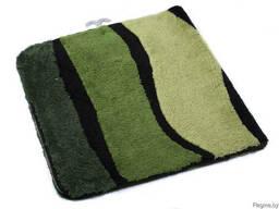 """Коврик для ванной текстильный зеленый """"Jolie"""" 70*120 см"""