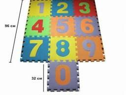 Коврик пазл развивающий для детей «Цифры»