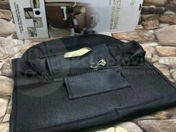 Кожаный (иск. ) органайзер для заднего сиденья автомобиля YI JUN MX-8208 Коричневый