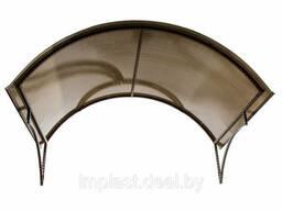 Козырек над входной группой ( арка ) размер: 1.6х1.