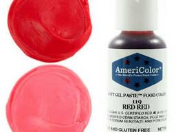 Краситель гелевый Americolor RED RED 21гр.