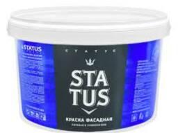 Краска акриловая STATUS фасадная белая 13кг