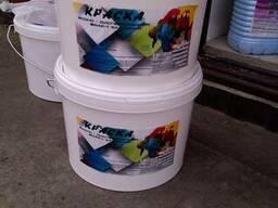 Краска акриловая ВДАК1 фасадная белая (15 кг)
