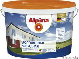 Краска дисперсионная Alpina Долговечная фасадная