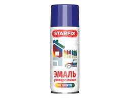 Краска-эмаль аэроз. универсальная чернильный Starfix 520мл (5022) (Ночной синий. ..