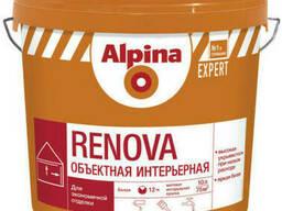 Краска интерьерная дисперсионная Alpina Expert Renova