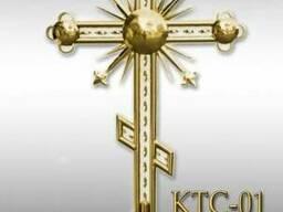 Крест с напылением нитрид титана 12