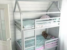 Кровать-домик двухъярусная Nicol 7