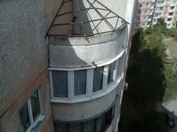 Кровля балкона . Козырьки над балконом.