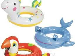 Круг для плавания Животные (кит, попугай, единорог) 36128 Bestway, арт.004826