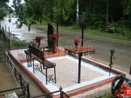 Крупнозернистый кварцевый песок для благоустройства кладбищ