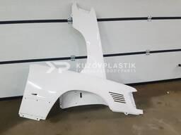 Крыло на мерседес 124 стеклопластик