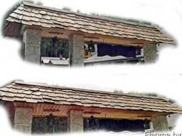 Крыша – вечная, из Дубовой дранки.