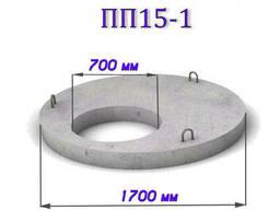 Крышка бетонная для колодца / Плита покрытия ПП-15
