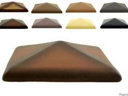 Крышки керамические (колпаки) на столбы ограждений