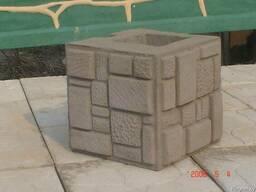 Кубики для столбов