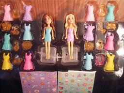 Кукла модница с аксессуарами и наклейками, акция: по