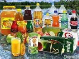 Купим соки, напитки , воды и другие продукты питания