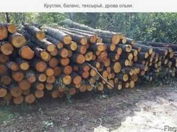 Куплю кругляк березу, ольху, дуб, граб, ясень на дрова!
