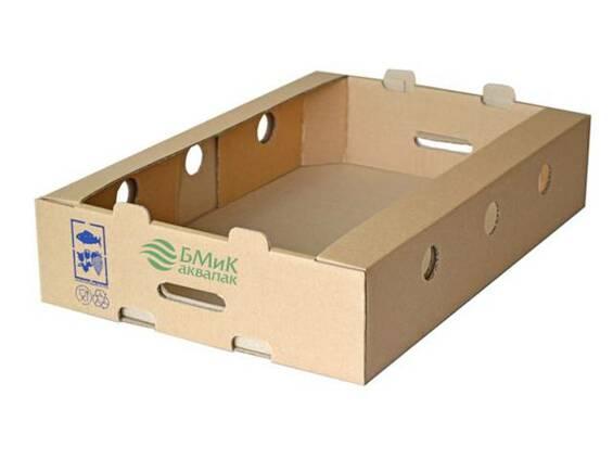 Куриный лоток (гофролоток для упаковки мяса птицы)
