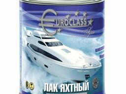 """Лак алкидно-уретановый """"Euroclass"""" яхтный 0,8 кг"""