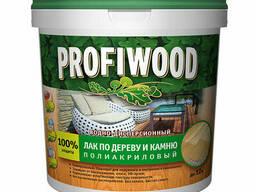 Лак по дереву и камню Profiwood ВД глянцевый 2 л / 2,2 кг
