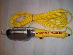Лампа переносная(переноска) 220v L15 метров купить в Минске