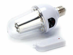 Лампа с аккумулятором и пультом управления