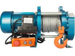 Лебедка KCD-1000 380 В с канатом 70 м электрическая. ..