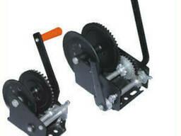 Лебедки ручные барабанные LHW г/п 1, 0тн, канат-10м